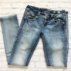 Miss Me Light Wash Straight Leg Jeans